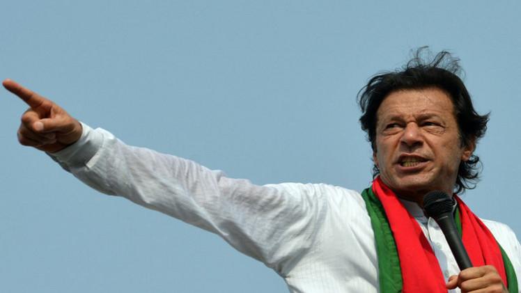 انسحاب المعارض الباكستاني عمران خان من المفاوضات مع الحكومة