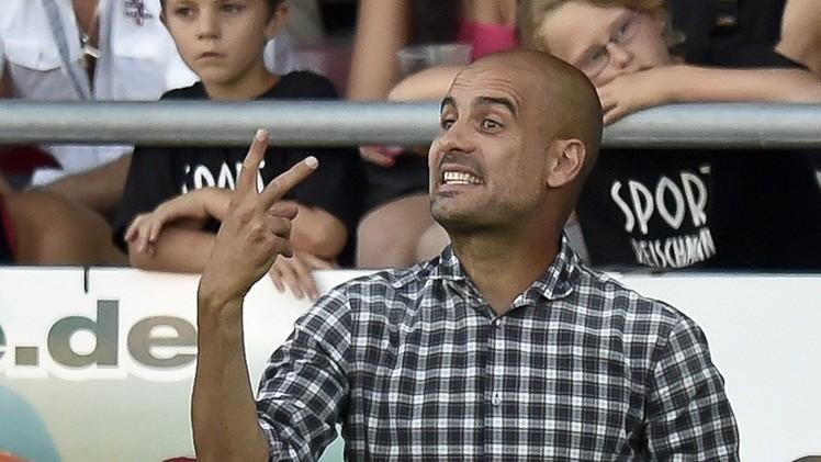 غوارديولا: بايرن يسعى بالدرجة الأولى للمحافظة على لقب الدوري الألماني