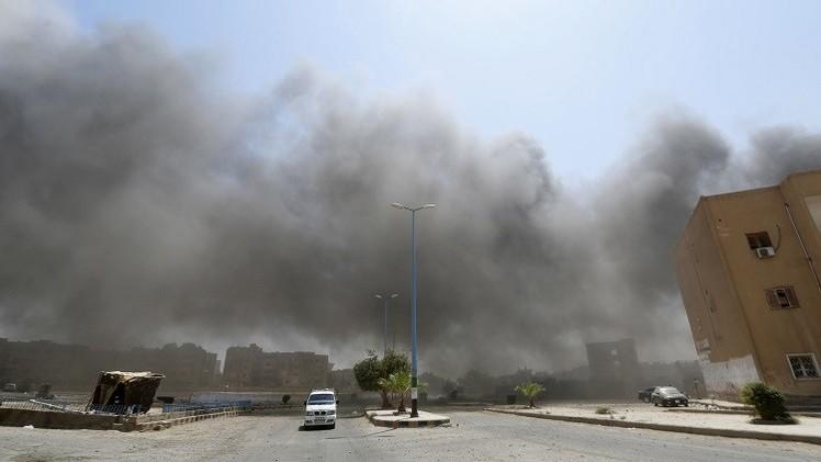 مراسلنا: مقتل العشرات من مسلحي داعش في كمين للجيش السوري قرب مطار الطبقة بريف الرقة