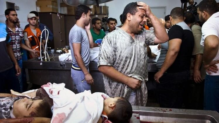 اليونيسيف:  469 طفلا قتلوا في غزة.. وإعادة إعمارها تحتاج 18 عاما