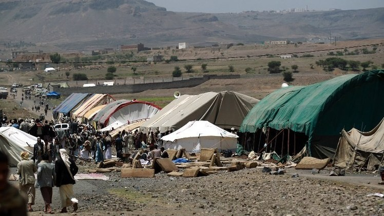 اليمن.. وفد رئاسي في صعدة وضواحي صنعاء تشهد حشودا للحوثيين