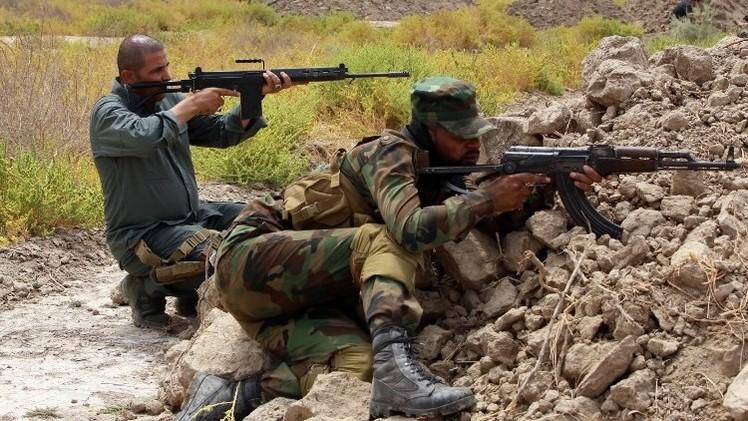 عملية مشتركة للجيش العراقي والبشمركة لاستعادة بلدة في ديالى