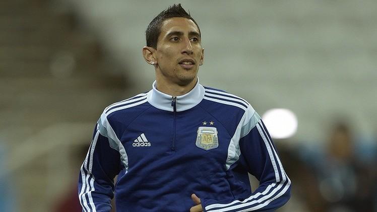 قرب إعلان مانشستر يونايتد تعاقده مع الأرجنتيني دي ماريا