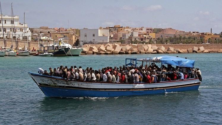 فقدان 170 مهاجرا إفريقيا غير شرعي قبالة سواحل ليبيا