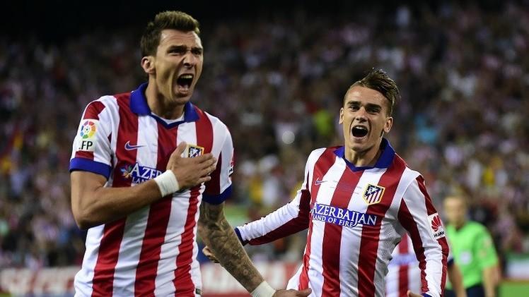 أتلتيكو مدريد يتوج بطلا لكأس السوبر الإسبانية