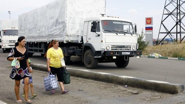 المراقبون الأوروبيون: نحو 200 شاحنة روسية عبرت الحدود الأوكرانية