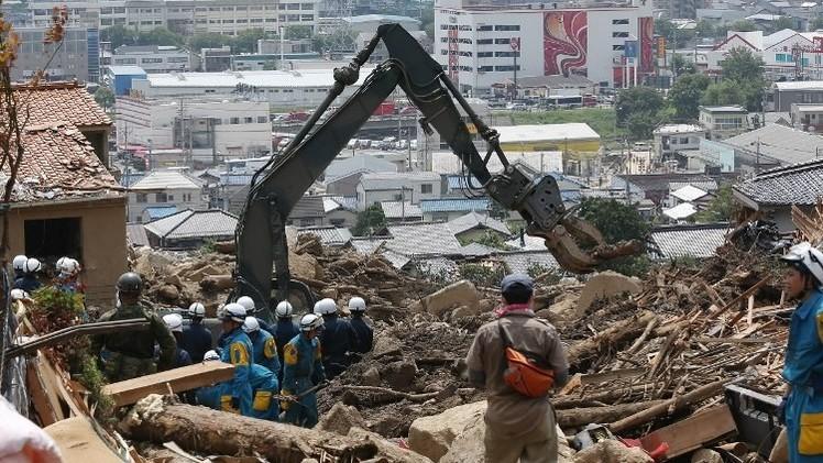 السلطات اليابانية توصي بإجلاء 160 ألفا من سكان هيروشيما