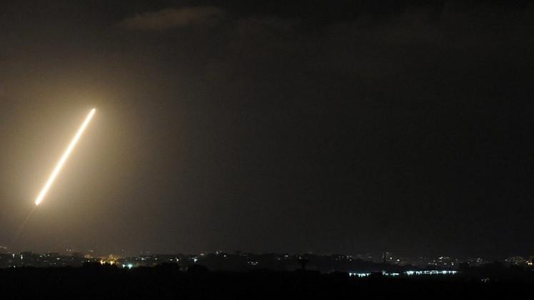 سقوط صاروخ أطلق من لبنان على شمال إسرائيل