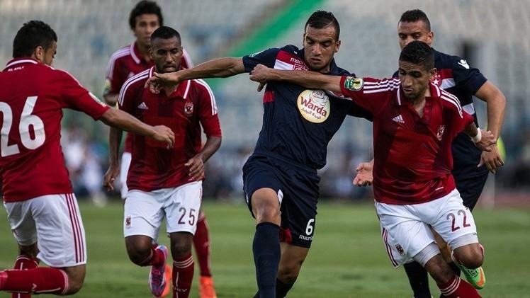 أداء مخيب للأهلي يصعد به إلى نصف نهائي كأس الاتحاد الإفريقي