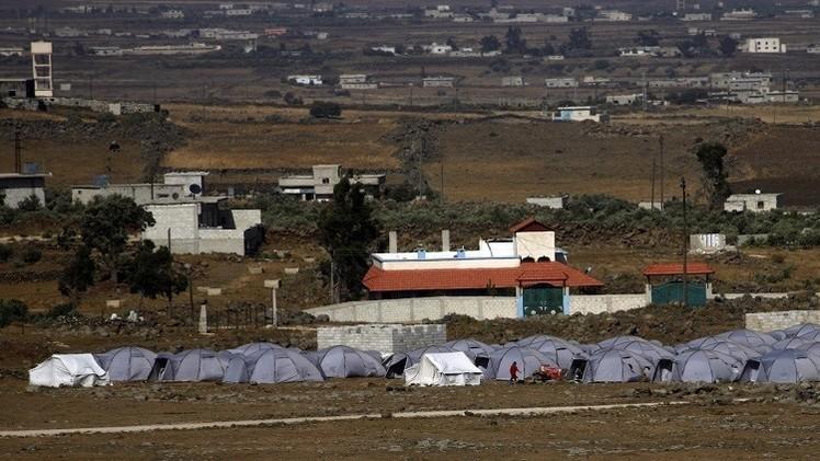 قذائف صاروخية من سورية على مستوطنات اسرائيلية في الجولان