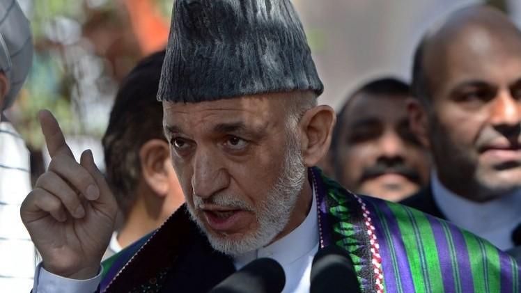 كرزاي يحدد الثاني من سبتمبر موعدا لتنصيب الرئيس الأفغاني الجديد