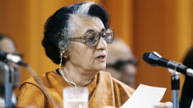 الهند تحظر عرض فيلم عن اغتيال إنديرا غاندي