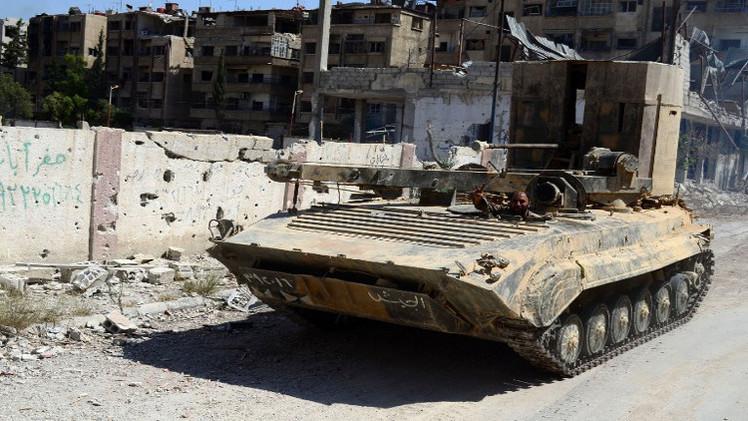 استمرار المعارك في محيط مطار الطبقة العسكري في محافظة الرقة