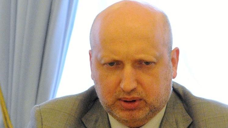 رئيس برلمان أوكرانيا يراهن على الحل العسكري لحسم النزاع شرق البلاد