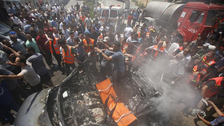 مقتل 11 شخصا في غزة.. وحصيلة الهجوم الإسرائيلي ترتفع إلى 2133