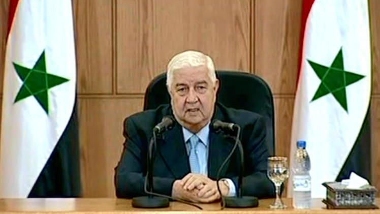 المعلم: سورية مستعدة للتعاون في مكافحة الإرهاب في اطار احترام السيادة السورية