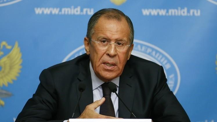 لافروف: محاربة الإرهاب يجب أن تتم بموافقة الدول المعنية