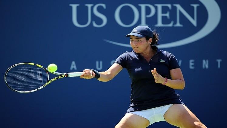 التونسية أُنس جابر تودع بطولة أمريكا المفتوحة للتنس