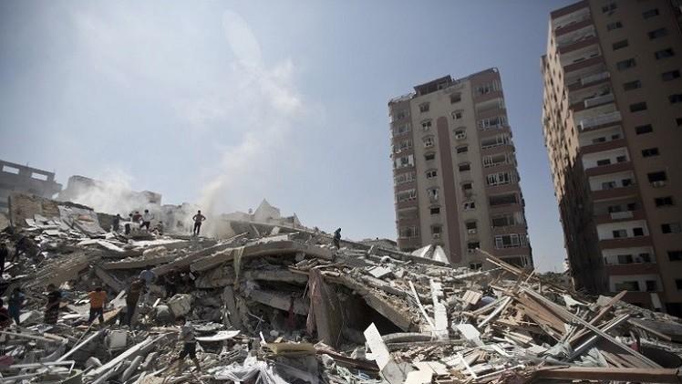 مقتل 11 فلسطينيا جراء القصف الإسرائيلي.. والحصيلة ترتفع إلى 2143 (فيديو)