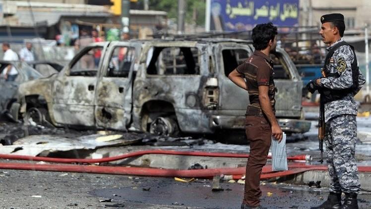 مقتل 15 شخصا على الأقل في هجوم بسيارة مفخخة شرق بغداد