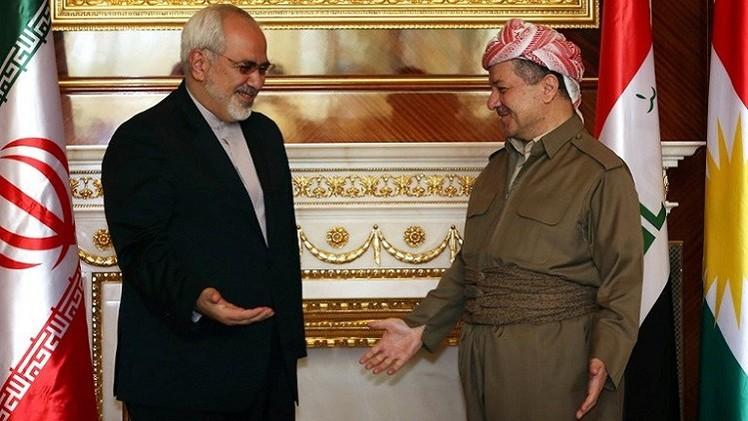 إيران تقدم مساعدات عسكرية وأسلحة لقوات البيشمركة الكردية