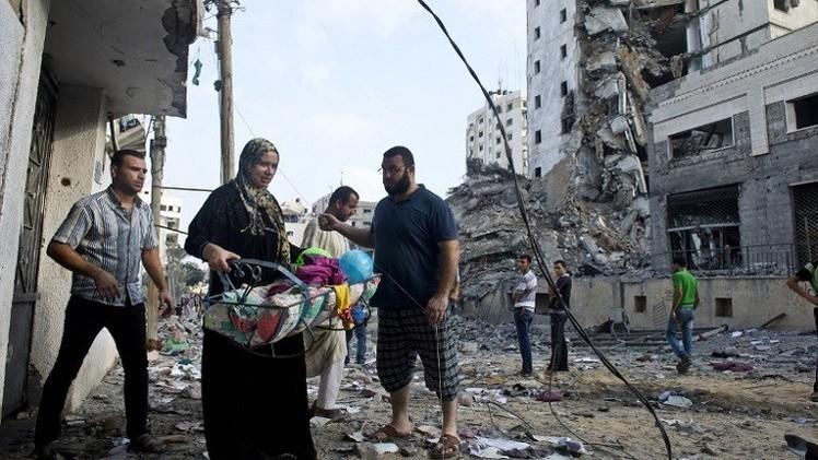 مجلس الوزراء الفلسطيني يدعو الى تقديم المزيد من المساعدات لإغاثة غزة