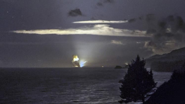 انفجار سلاح سري للبنتاغون تفوق سرعته سرعة الصوت محدثا كرة لهب غامضة بألاسكا