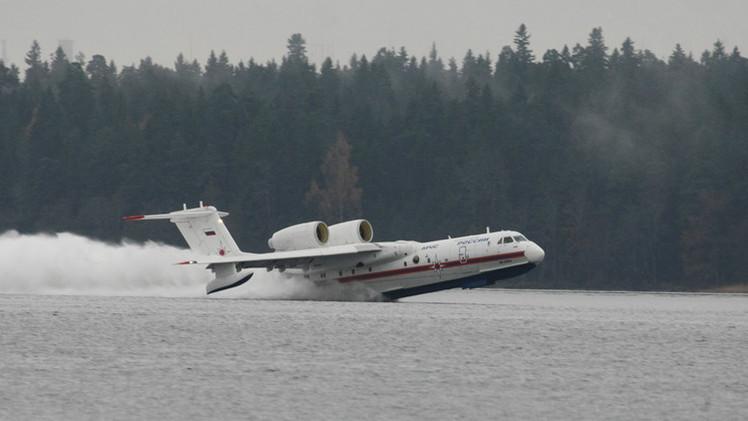 فرنسا تخطط لاستئجار طائرة برمائية روسية