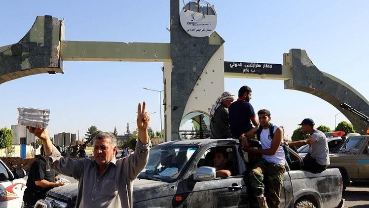 مطار طرابلس تحت سيطرة الإسلاميين