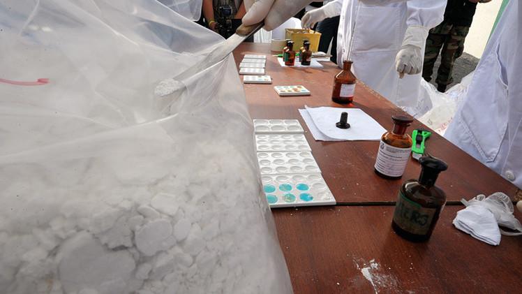 الشرطة البيروفية تصادر 3.5 طن من الكوكايين (فيديو)