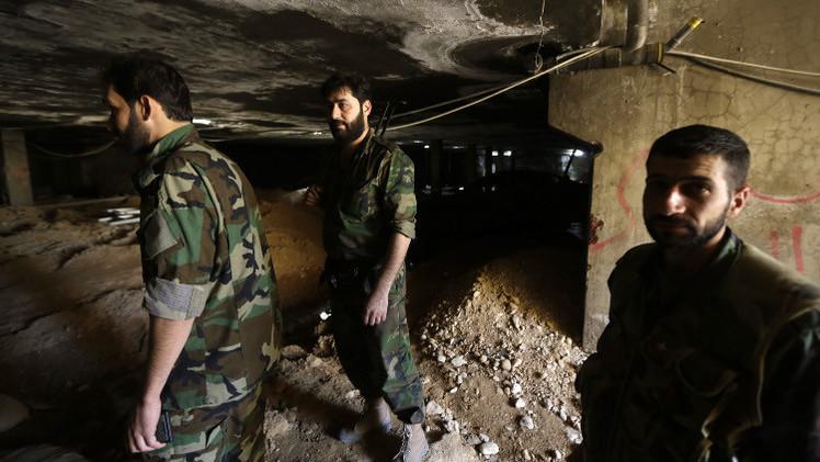 الجيش السوري يقتحم جوبر بريف دمشق ومقتل قائد لمسلحي المعارضة في دير الزور