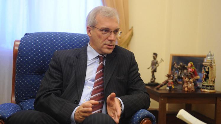 غروشكو: محاولات الناتو لحشد القوة ضد روسيا لا آفاق لها