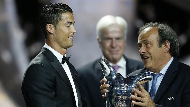رونالدو أفضل لاعب في أوروبا لعام 2014