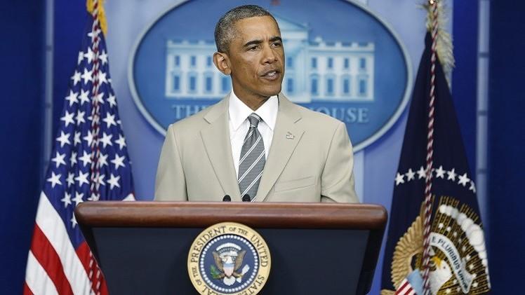 أوباما: سنواصل عملياتنا ضد تنظيم