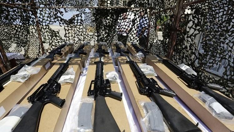 واشنطن تسلم الجيش اللبناني شحنة أسلحة بقيمة 20 مليون دولار