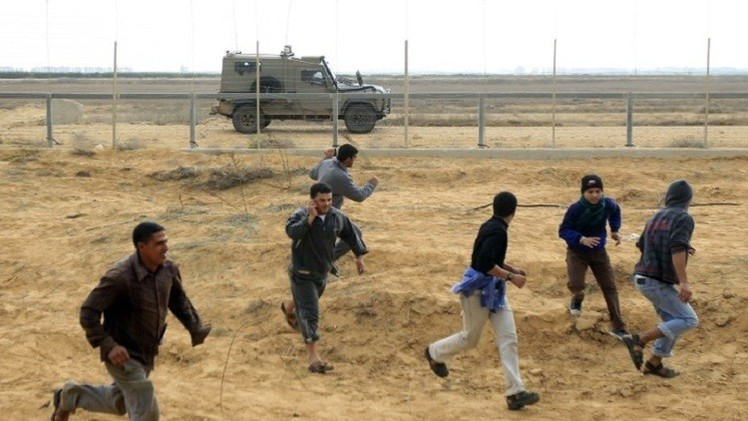 الفلسطينيون والحزام الأمني الإسرائيلي