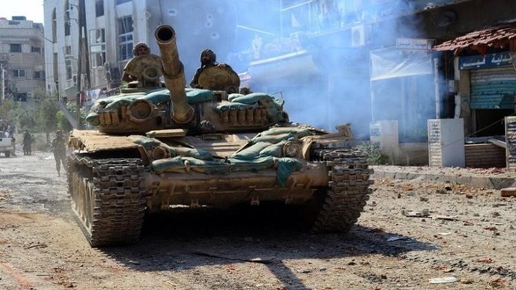 لليوم الثاني.. الجيش السوري يتقدم في جوبر شرق دمشق