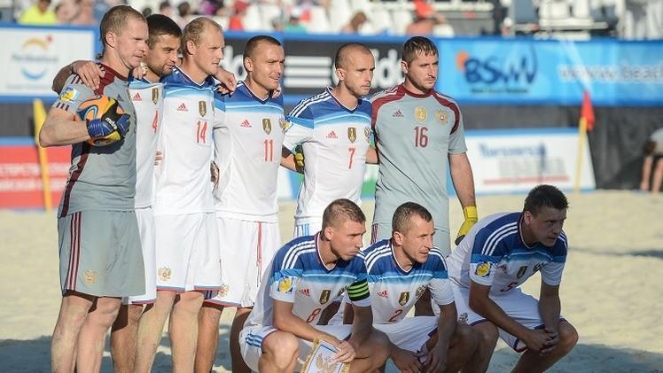 روسيا تفوز على هنغاريا في افتتاح كأس أوروبا بكرة القدم الشاطئية