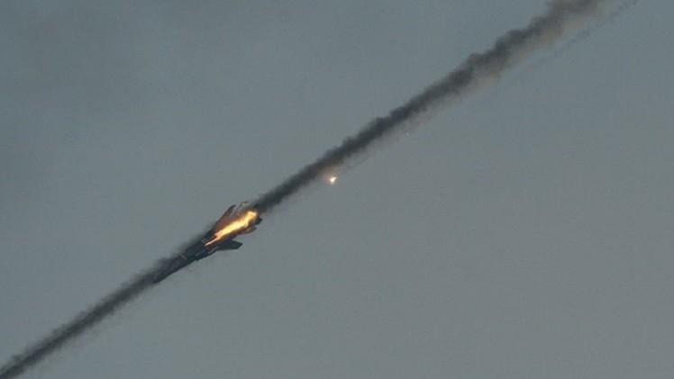 سقوط مقاتلة تابعة للواء حفتر شرق ليبيا ومقتل قائدها