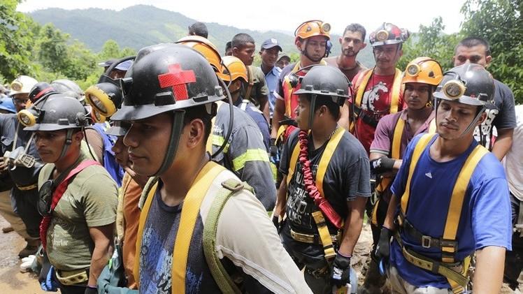 20 شخصا عالقون على عمق 800 متر جراء انهيار منجم شمال نيكاراغوا