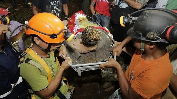 نيكاراغوا.. إنقاذ 20 من العمال العالقين داخل منجم للذهب