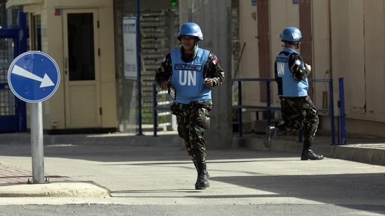 معارك بين قوات حفظ السلام الفليبينية ومسلحين في هضبة الجولان بسورية