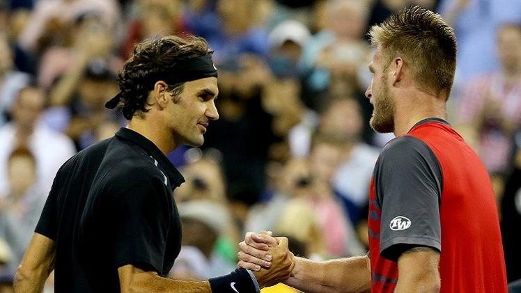 فيدرر يعبر إلى ثالث أدوار بطولة أمريكا المفتوحة للتنس