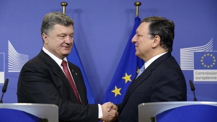 بوروشينكو: نعول على لقاء مينسك ولا نريد إطلاق شرارة حرب جديدة في أوروبا