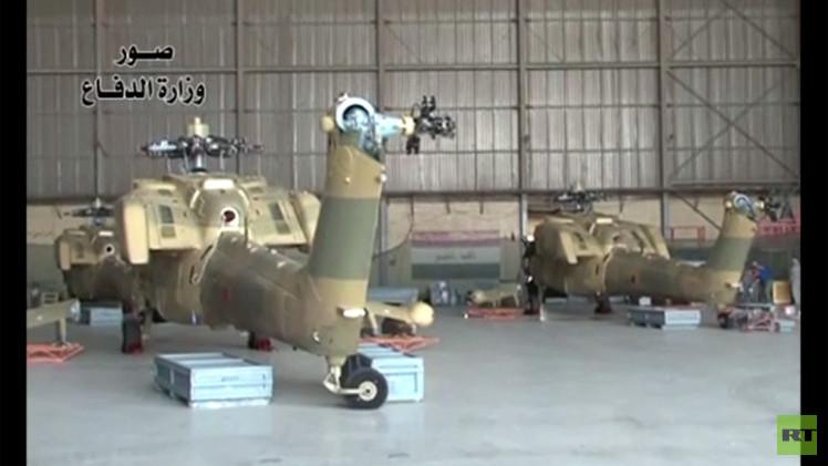 بالفيديو.. العراق يتسلم مروحيات روسية هجومية