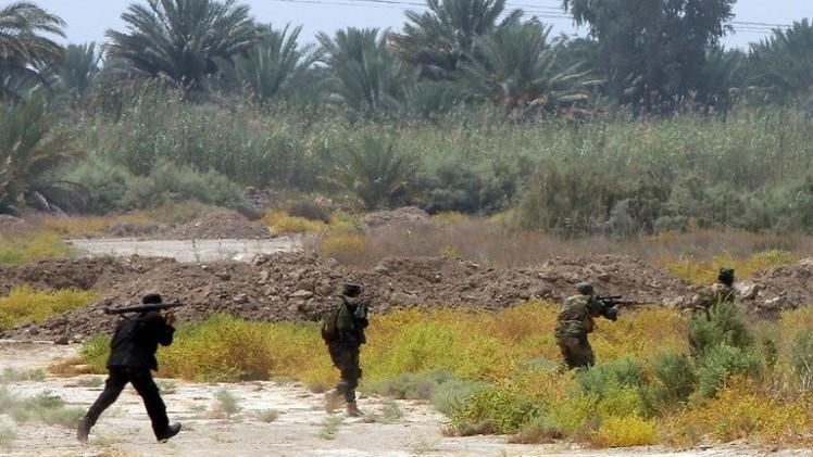 القوات العراقية تفك حصار آمرلي وتدخلها