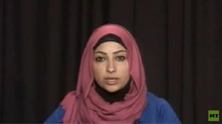 اعتقال الناشطة البحرينية مريم الخواجة لدى وصولها الى مطار المنامة