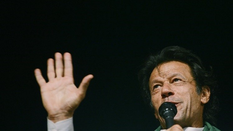 زعيم المعارضة الباكستانية يؤكد استمرار الاحتجاجات ضد حكومة شريف
