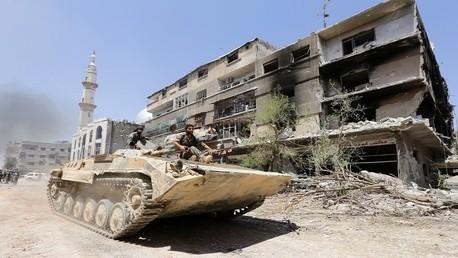عناصر من الجيش السوري - صورة من الأرشيف