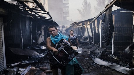 معاناة إنسانية لسكان أوكرانيا بسبب الأزمة